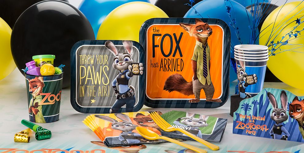 Zootopia Party Supplies - Party City