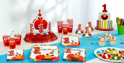 Mickey Mouse 1st Birthday Party Supplies ... & Elmo 1st Birthday Party Supplies | Party City