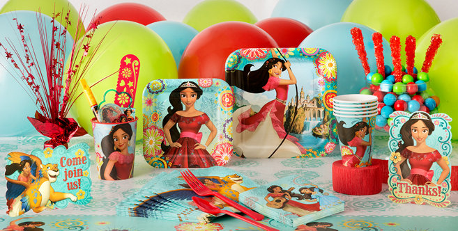 elena of avalor party supplies