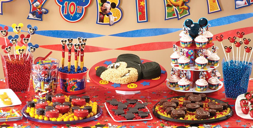 Mickey Mouse Cake Supplies Mickey Mouse Cupcake  Cookie Ideas - Mickey birthday cake ideas