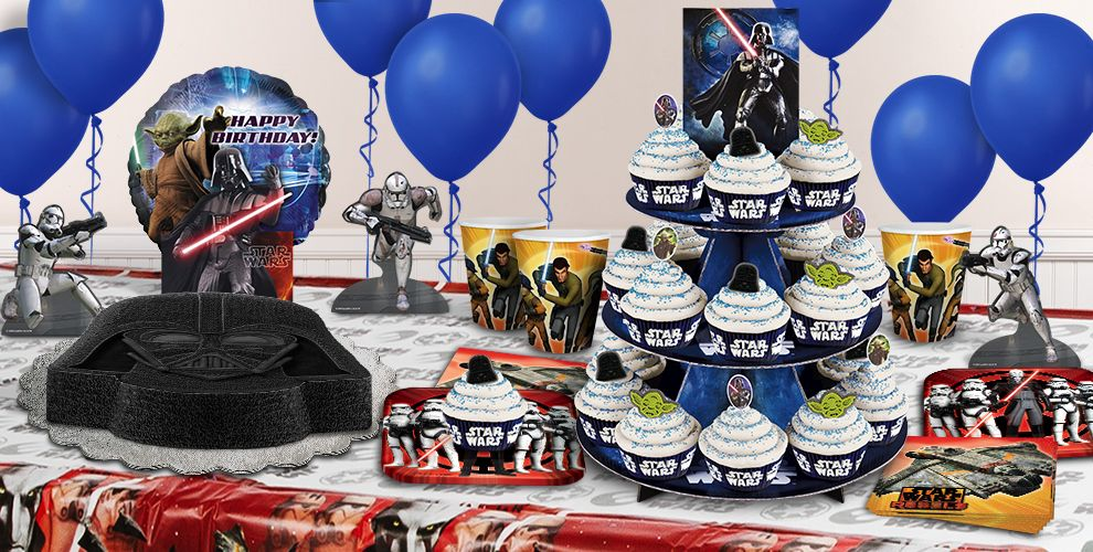 star wars cake supplies star wars cupcake cookie ideas party city - Party City Decorations