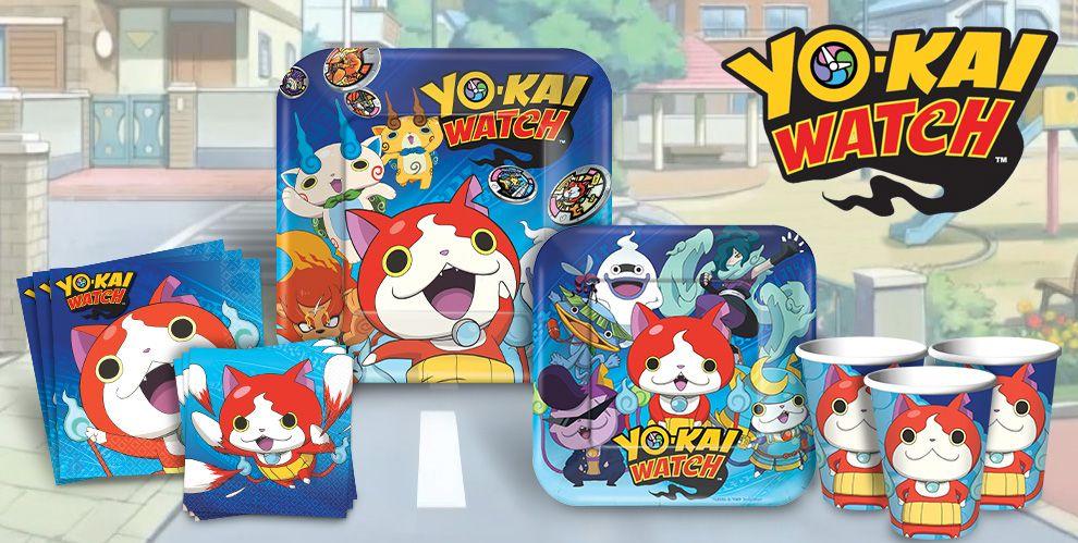 Yo-Kai Watch Party Supplies