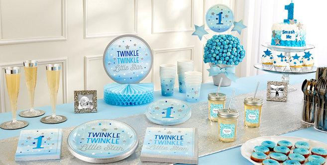 Blue Twinkle Twinkle Little Star Gender Neutral 1st