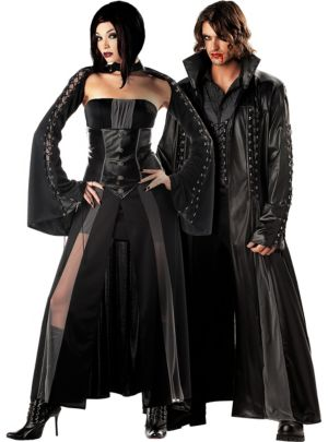 Baroness and Baron Von Bloodshed Couples Costumes