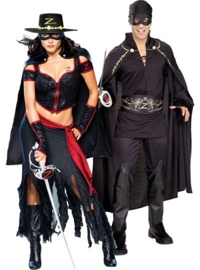 Zorro Couples Costumes