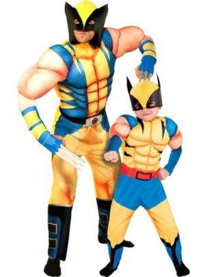 Wolverine Daddy and Me Costumes