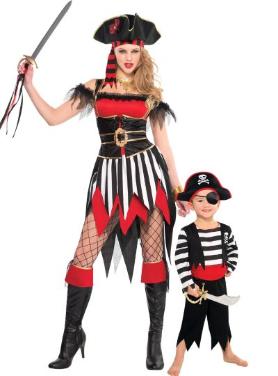 Pirate Mommy and Me Costumes