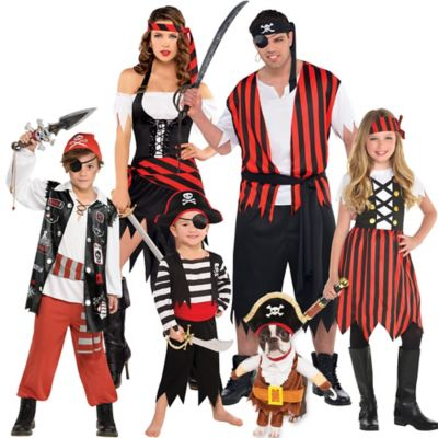 Pirate Couples Costumes