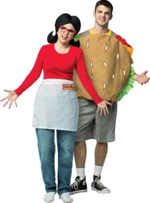 Adult Linda Belcher & Gene Belcher Couples Costumes - Bob's Burgers