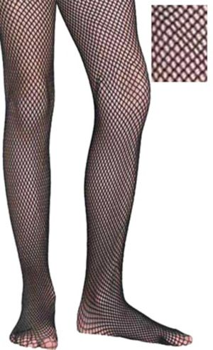 Child Black Fishnet Pantyhose
