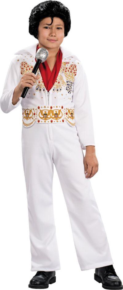 Toddler Boys Aloha Elvis Presley Costume