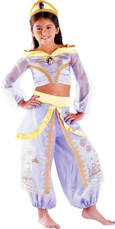 Girls Princess Jasmine Costume Prestige