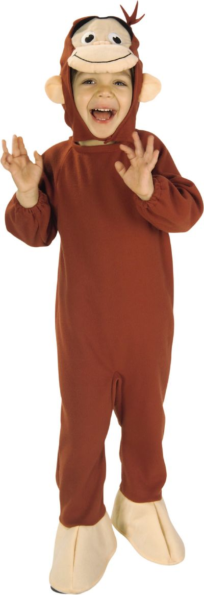 Toddler Boys Curious George Costume