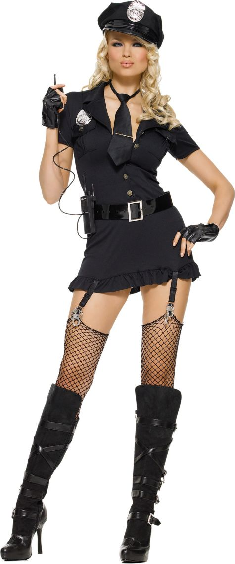 Animals Costumes Adults Adult Dirty Cop Costume