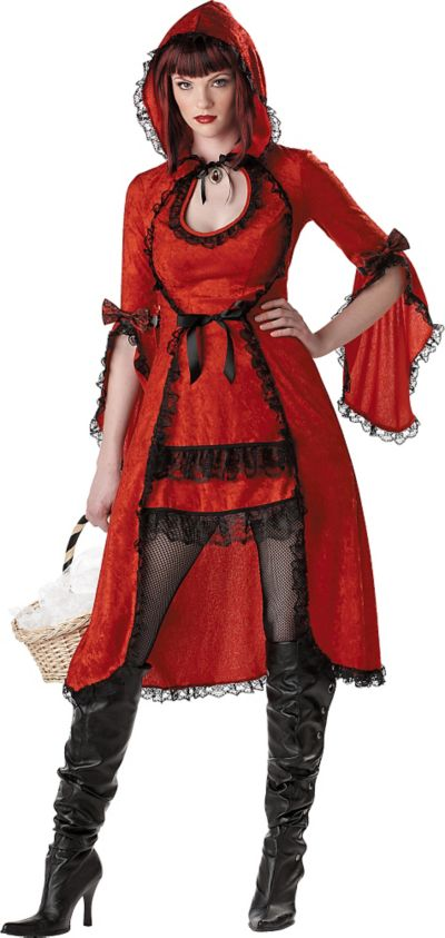 Adult Strangelings Red Riding Hood Costume