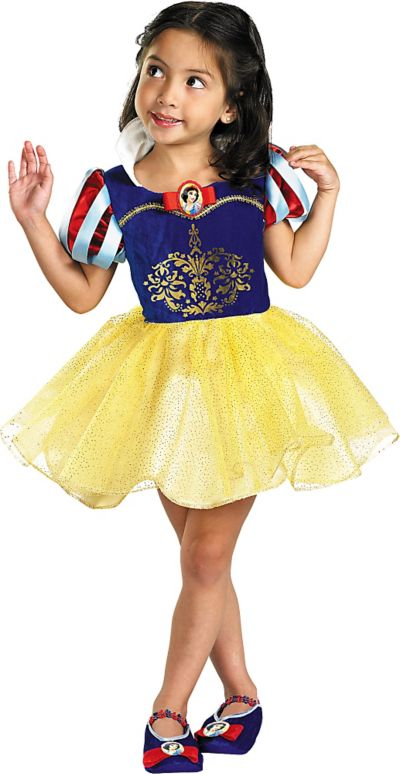 Toddler Girls Classic Snow White Ballerina Costume