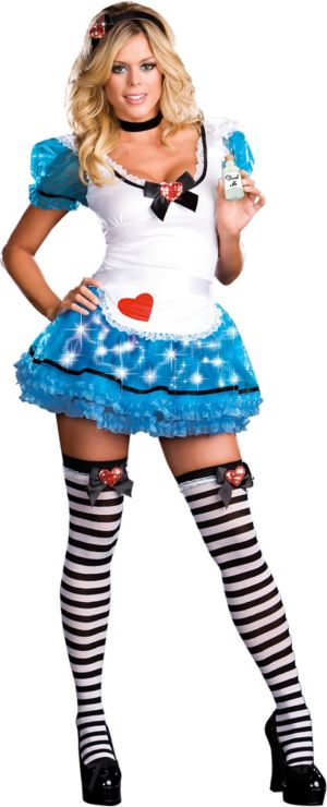 Adult Wonderland's De-Light Light-Up Alice Costume