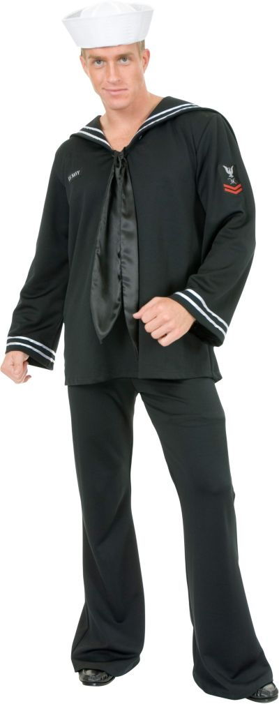 Adult Navy Blue Sailor Costume