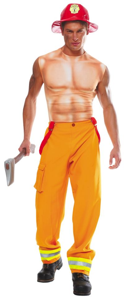 Adult Sexy Firefighter Costume