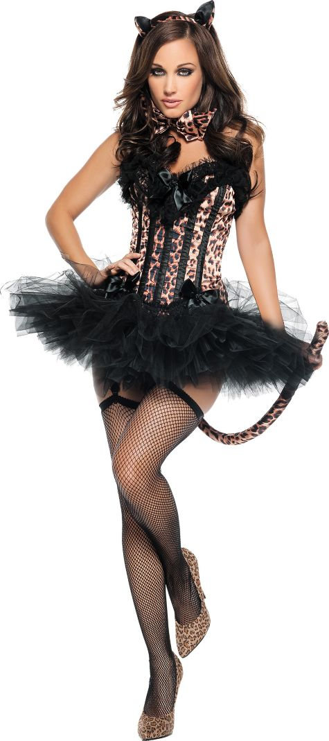 Animals Costumes Adults Adult Carousel Leopard Costume