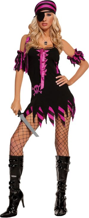 Adult Shipwrecked Wench Pirate Costume