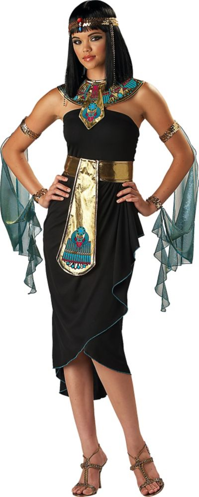 Adult Cleopatra Black Costume