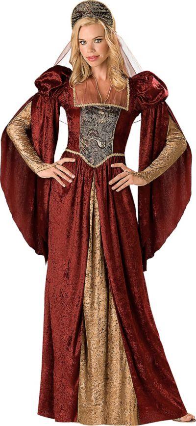 Adult Renaissance Maiden Costume