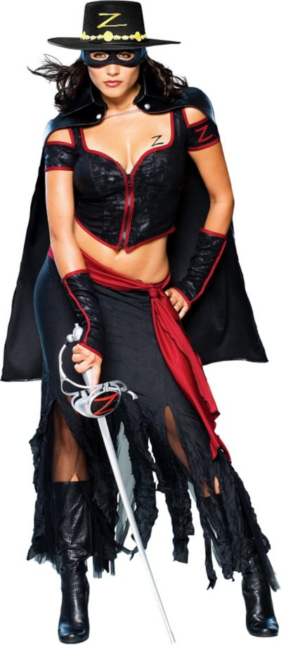 Adult Lady Zorro Costume