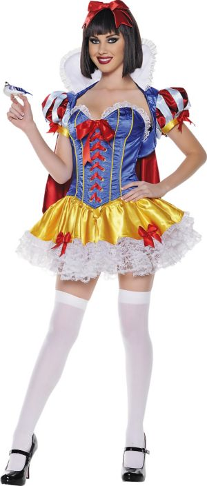 Adult Elegant Lace Snow White Costume