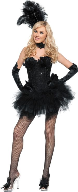 Adult Black Swan Costume