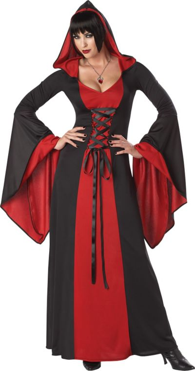 Adult Hooded Temptress Costume