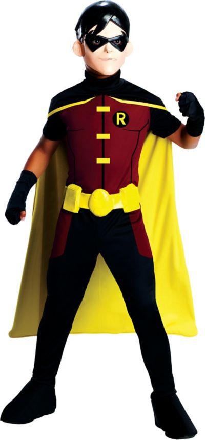Boys Young Justice Robin Costume Party City