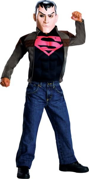 Boys Superboy Costume - Young Justice - Superman