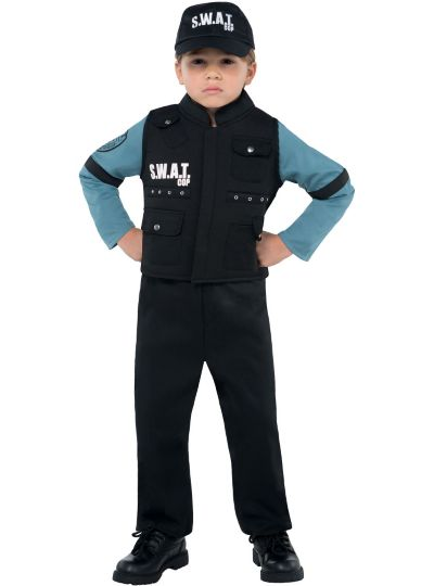 Boys Jr. SWAT Officer Costume