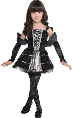 Little Girls Midnight Mischief Costume