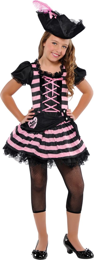 Girls Sweetheart Pirate Costume