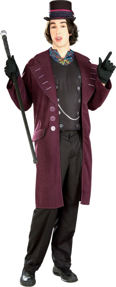 Adult Willy Wonka Costume Plus Size