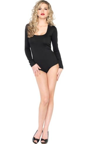Adult Black Bodysuit