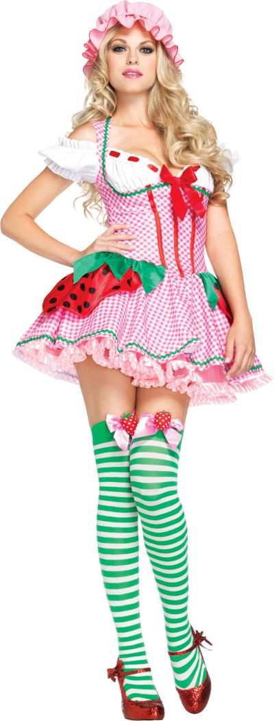 Adult Strawberry Beauty Costume