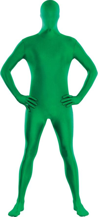 Adult Green Morphsuit Plus Size