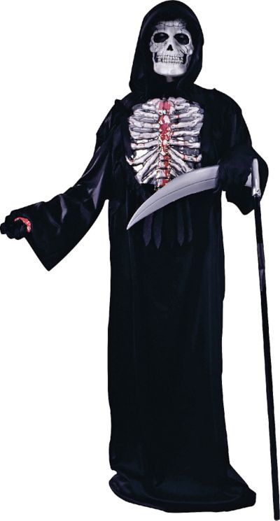 Boys Bleeding Skeleton Costume