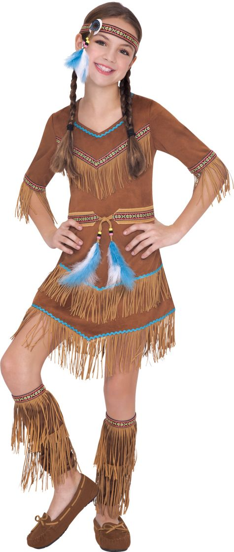 Toddler Girl Native American Costume Native American Costume