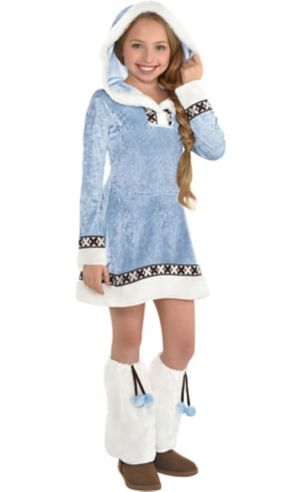 Girls Arctic Princess Costume