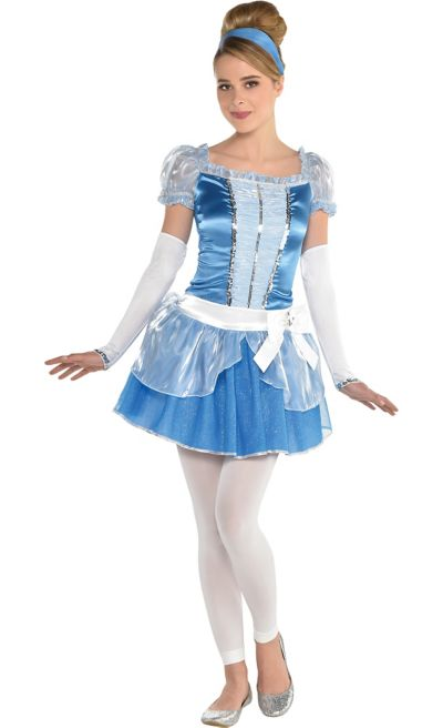 Teen Girls Cinderella Costume