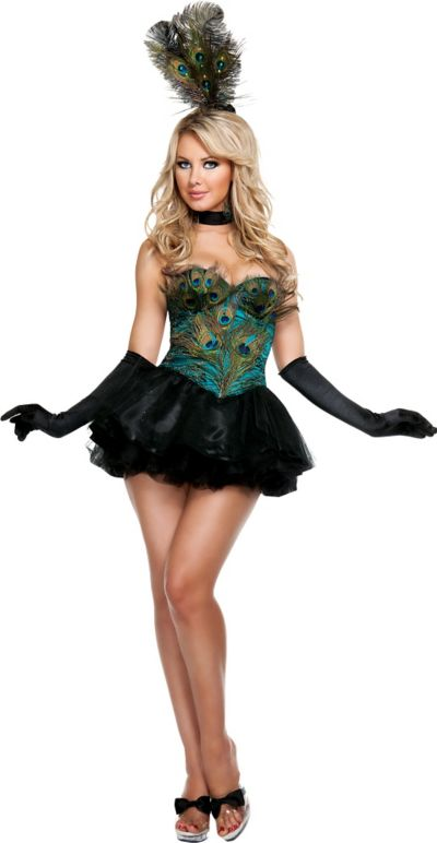 Adult Ravishing Peacock Costume