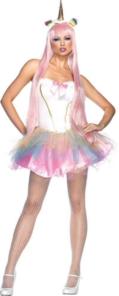 Adult Light-Up Fantasy Unicorn Costume