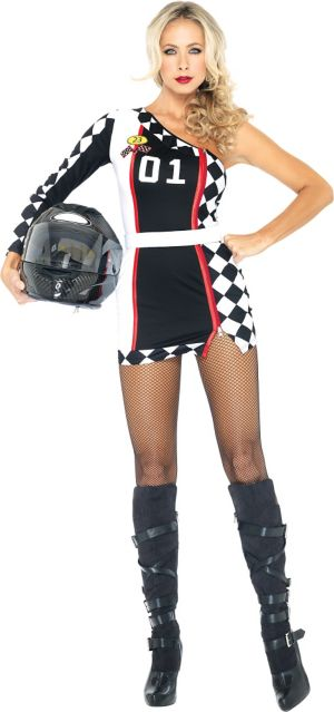 Adult First Place Racer Costume