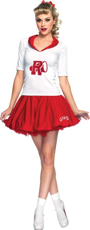 Adult Rydell Cheerleader Costume - Grease