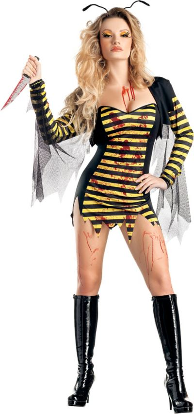Adult Sexy Killer Bee Costume