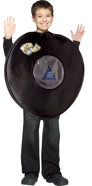 Child Magic 8 Ball Costume